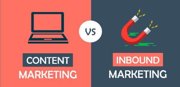 phân biệt content và inbound marketing