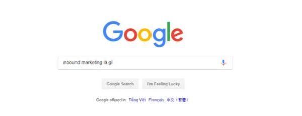 google inbound marketing