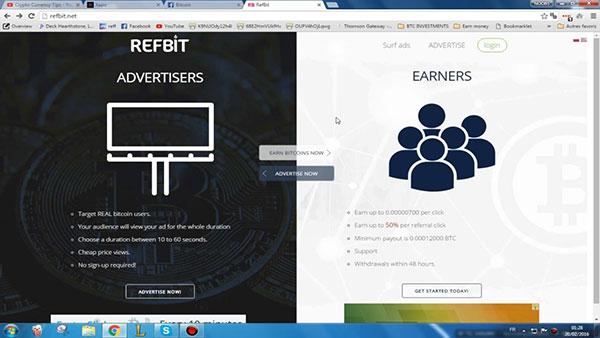 kiếm tiền bằng cách xem quảng cáo