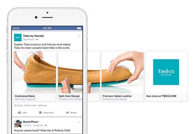 Kết quả hình ảnh cho carousel ads