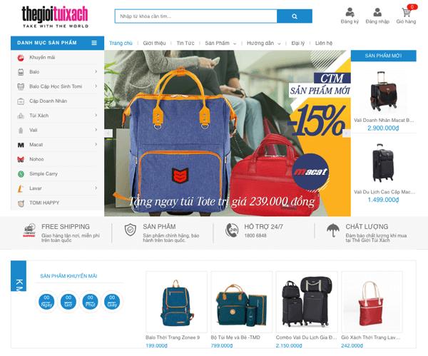 tạo website bán hàng online kiếm tiền tại nhà