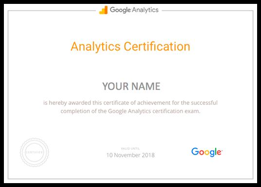 học digital marketing qua học viện Google Analytics có chứng chỉ khóa học